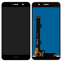 LCD for Huawei Enjoy 5, Y6 Pro Cell Phones, (black, with touchscreen)