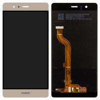 LCD for Huawei P9 Cell Phone, (golden, with touchscreen, EVA-L09 (Single SIM); EVA-L19, EVA-L29 (Dual SIM))