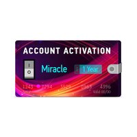 Miracle 1 Year Account Activation