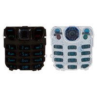 Keyboard for Nokia 6303 Cell Phone, (black, english)