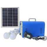 DC Portable Solar Power System, 10 W, 12 V / 7.2 Ah, Poly 18 V / 10 W>