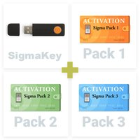 SigmaKey + Sigma Pack 1, 2, 3 Activations