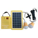 DC Portable Solar Power System, 3 W, 12 V / 3 Ah, Poly 18 V / 3 W>