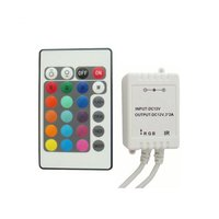 LED Controller with IR Remote Control HTL-43 (RGB, 5050, 3528, 72 W)