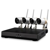 Set of HL0162 Network Video Recorder and 4 Wireless IP Surveillance Cameras