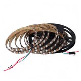 RGB LED Strip SMD5050, WS2812B (with controls, IP65, 5 V, 60 LEDs/m, 5 m)