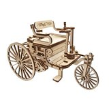 Mechanical 3D Puzzle Wood Trick First Car>