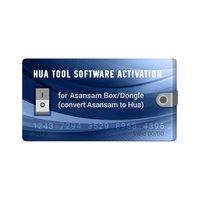 Hua Tool Software Activation for Asansam Box/Dongle (convert Asansam to Hua)