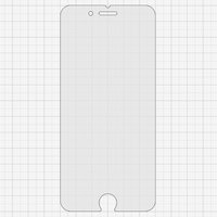 Tempered Glass Screen Protector All Spares for Apple iPhone 6, iPhone 6S Cell Phones, (0,26 mm 9H, matt)
