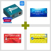 Octoplus Box Samsung + LG + FRP Tool + Huawei Tool + Unlimited Sony  Ericsson + Sony Activation with 5 in 1 Cable Set