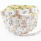RGB LED Strip SMD5050, WS2813 (with controls, white, IP20, 5 V, 30 LEDs/m, 5 m)>
