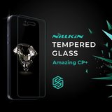 Tempered Glass Screen Protector Nillkin Amazing CP+ Pro compatible with Xiaomi Pocophone F1, (0.3 mm 9H, Full Glue, Anti-Fingertip, Anti-Blue Light, black, the layer of glue is applied to the entire surface of the glass) #6902048176768>