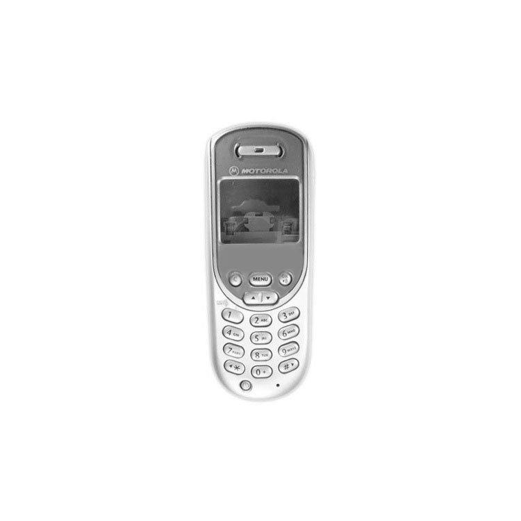 Корпус для сотового телефона Motorola T192, копия ААА, серебристый.