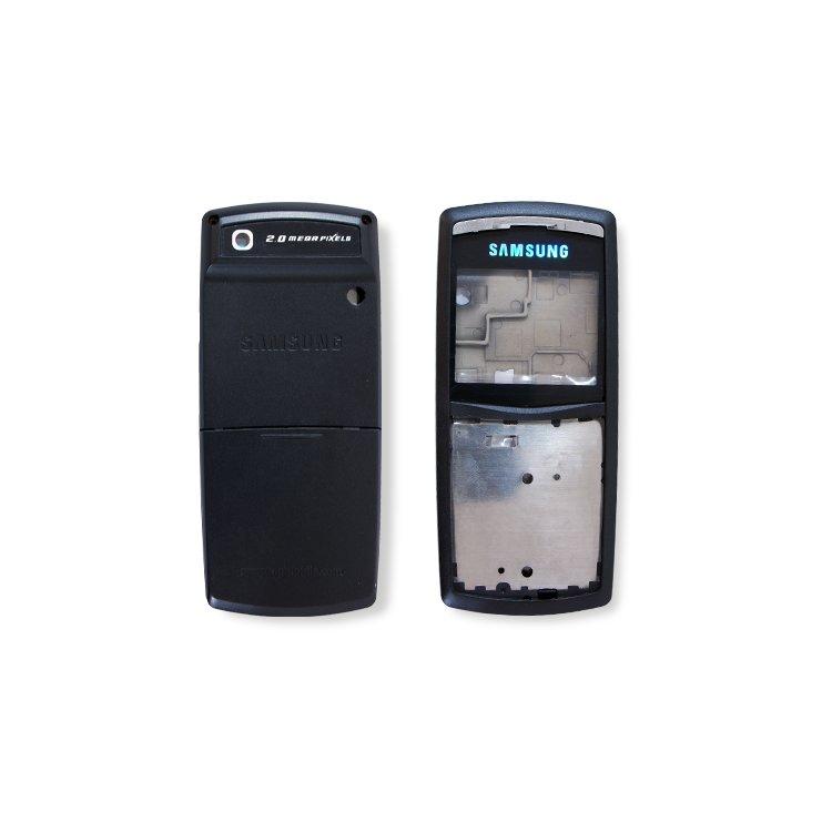 Корпус для сотового телефона Samsung X820, копия ААА, черный.