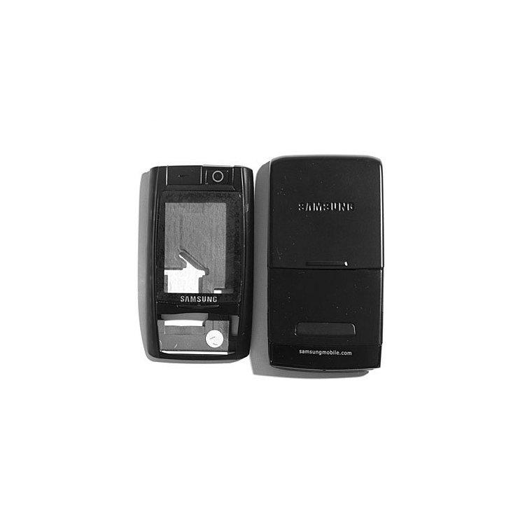 Корпус для сотового телефона Samsung D820, копия ААА, черный.