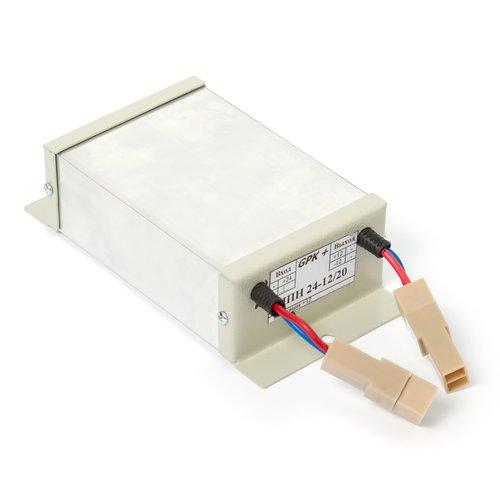 Автомобильный преобразователь напряжения 24В/12В (инвертор) .