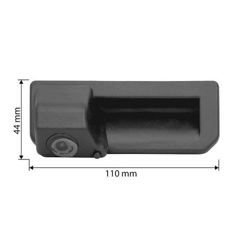 Камера заднього виду для Audi Q2, Q3, A5, Q5L, Q2L, A6L 17 18 19 р.в з омивачем
