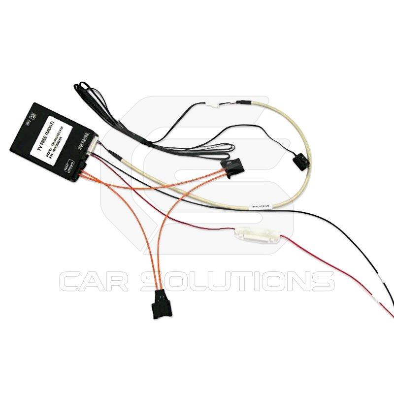 video in motion adapter for audi with most bus  car