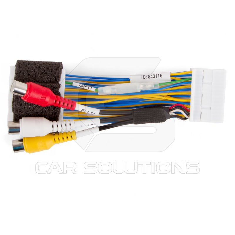 Adapters for Front and Rear View Camera Connection