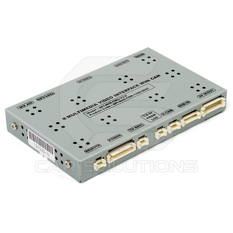 Video Interface for Audi MMI 3G / 3G Plus, VW RNS 850 with PAS