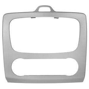 Car Trim Plate for Ford with Climate Control (Silvery)