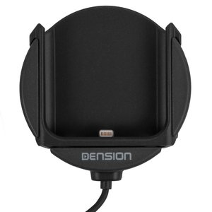Sujetador para iPhone para adaptadores Dension Gateway 500S / Pro BT (IP5LCRU)