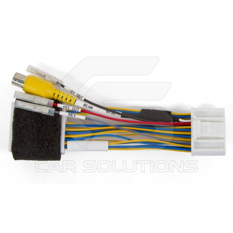 Cabo para camera de ré Madia Nav Rear-View-Camera-Connection-Cable-to-Renault-Dacia-Opel-MediaNav