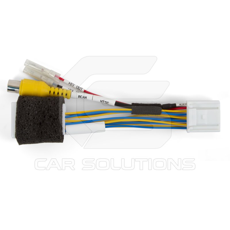 cable for rear view backup camera connection in toyota