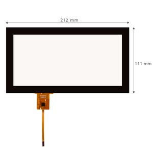 Capacitive Touch Panel for Audi Q7