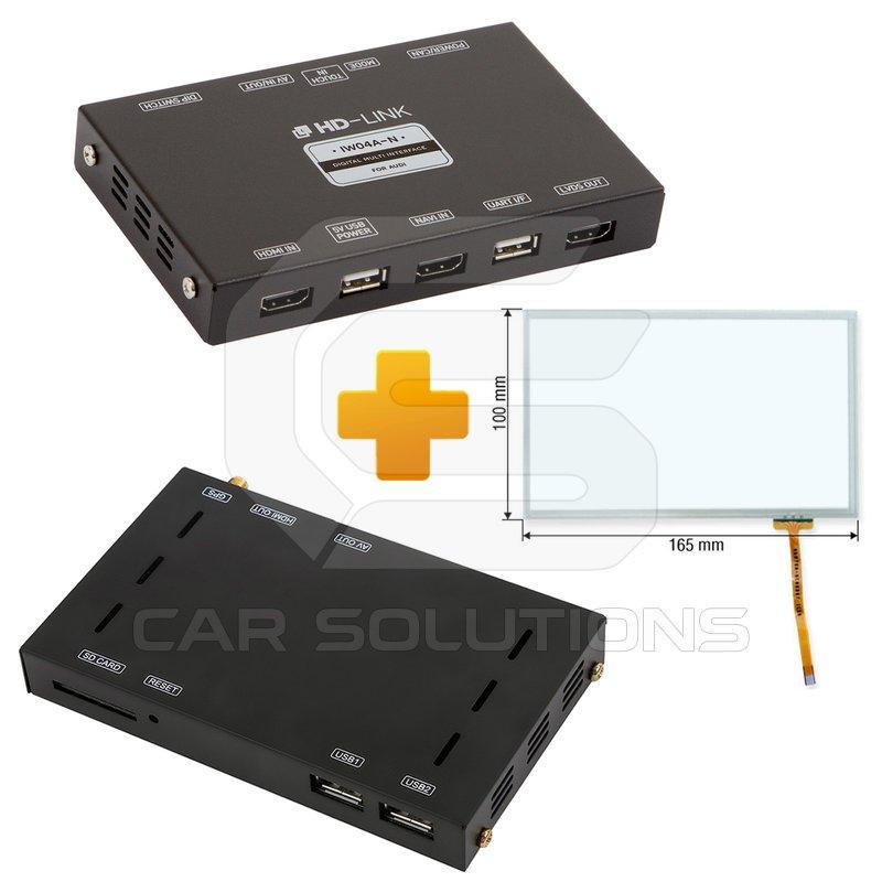 Navigation and Multimedia Kit for Audi MMI 3G Based on CS9500H