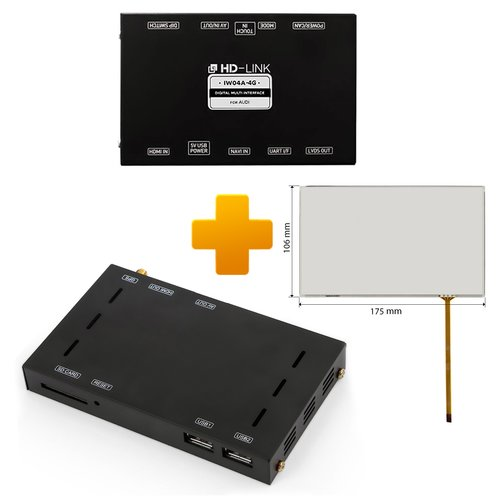 Navigation and Multimedia Kit for Audi MMI Touch Based on CS9500H