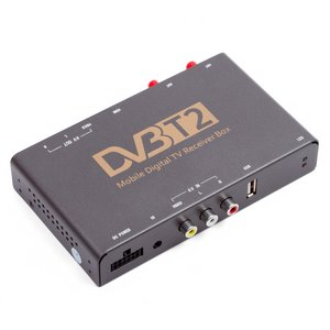 Receptor de TV digital para coche con entrada de video DVB-T2 HEVC