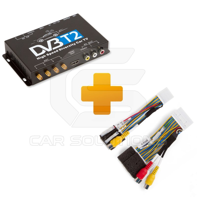 DVB-T2 TV Receiver and Connection Cable Kit for Touch, Scion Bespoke ...