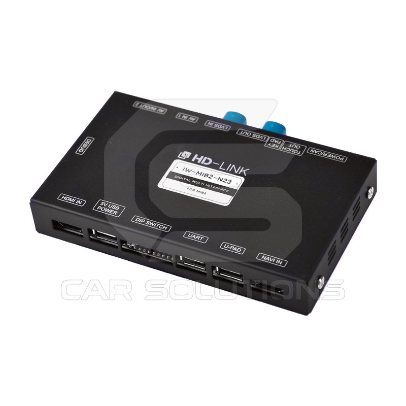 Video Interface with HDMI for Audi, Bentley, Porsche, Skoda, Volkswagen
