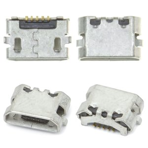 Charge Connector Blackberry 9350, 9360, 9370, (5 pin, micro USB type-B)