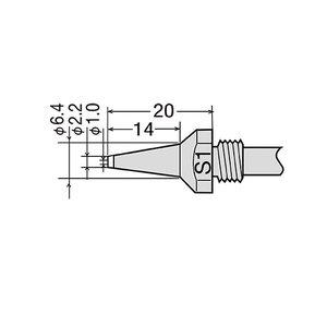 Desoldering Tip GOOT TP-100N-S1