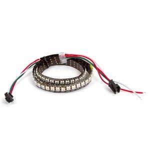 RGB LED Strip SMD5050, WS2812B (with controls, IP20, 144 LEDs/m, 1 m)