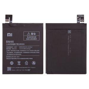 Battery BM46 compatible with Xiaomi Redmi Note 3, (Li-Polymer, 3.85 V, 4000 mAh)