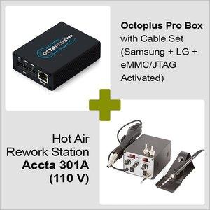 Octoplus Pro Box + Hot Air Rework Station Accta 301A (110 V)