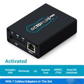 Octoplus Pro Box with 7 in 1 Cable/Adapter Set (Activated for Samsung + LG + eMMC/JTAG + FRP Tool + Huawei Tool + Unlimited Sony Ericsson + Sony)