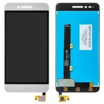 LCD for ZTE Blade A610 Cell Phone, (white, with touchscreen, Original (PRC))