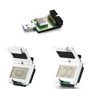 EMMC/EMCP Socket + 2 In 1 EMMC/EMCP Socket + USB3.0 SuperSpeed USD/EMMC Reader For EMMC Dongle
