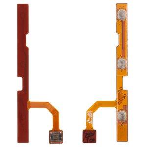 Cable flex para tablet PC Samsung P1000 Galaxy Tab, P1010 Galaxy Tab , de botones laterales, con componentes