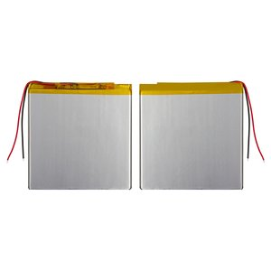 Batería, 93 mm, 95 mm, 2.6 mm, Li-ion, 3.7 V, 2500 mAh