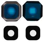Скло камери для Samsung A310F Galaxy A3 (2016), A510F Galaxy A5 (2016), A710F Galaxy A7 (2016), чорне
