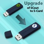 SCout до S-Card (upgrade)