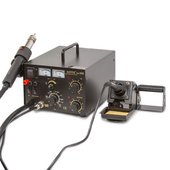 Hot Air Soldering Station AOYUE 909 with Power Supply function + Soldering Iron
