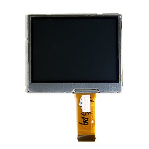 LCD for Kodak P850, P880, P885; Nikon P1, P2, S1, S2, S3, S4 Digital Cameras, (in frame, with backlight)