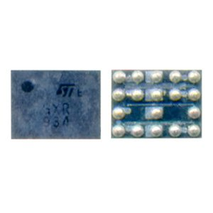 SIM-card Control Ic EMIF07-LCD02F3/4129287 18pin for Nokia 200 Asha, 201 Asha, 2690, 2700c, 302 Asha, 303 Asha, 3109, 3110, 3500, 3600s, 3710f, 5130, 5220, 5228, 5230, 5233, 5310, 5330, 5530, 5630, 6212c, 6300, 6500c, 6500s, 6600i, 6600s, 6700c, 6710n, 6730c, 7210sn, 7310sn, 7500, 7510sn, 7610sn, C3-01, C5-00, E52, E55, E6-00, E63, E66, N78, N79, N96, X2-00, X2-01, X3-02 Cell Phones