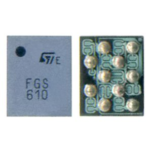 SIM-card Control Ic EMIF02-USB02F2/4129265 10pin for Nokia 3230, 6085, 6111, 6170, 6230i, 6260, 6270, 6280, 6670, 7270, 7370, 7610, N73, N91, N92, N93, N93i Cell Phones
